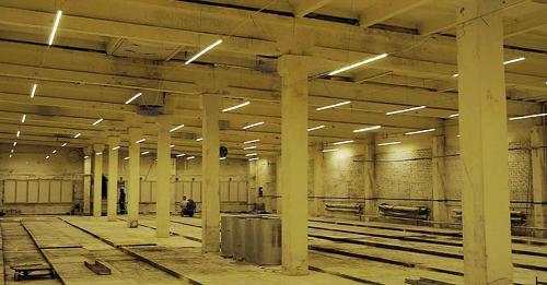 Светодиодное освещение для птицефабрик