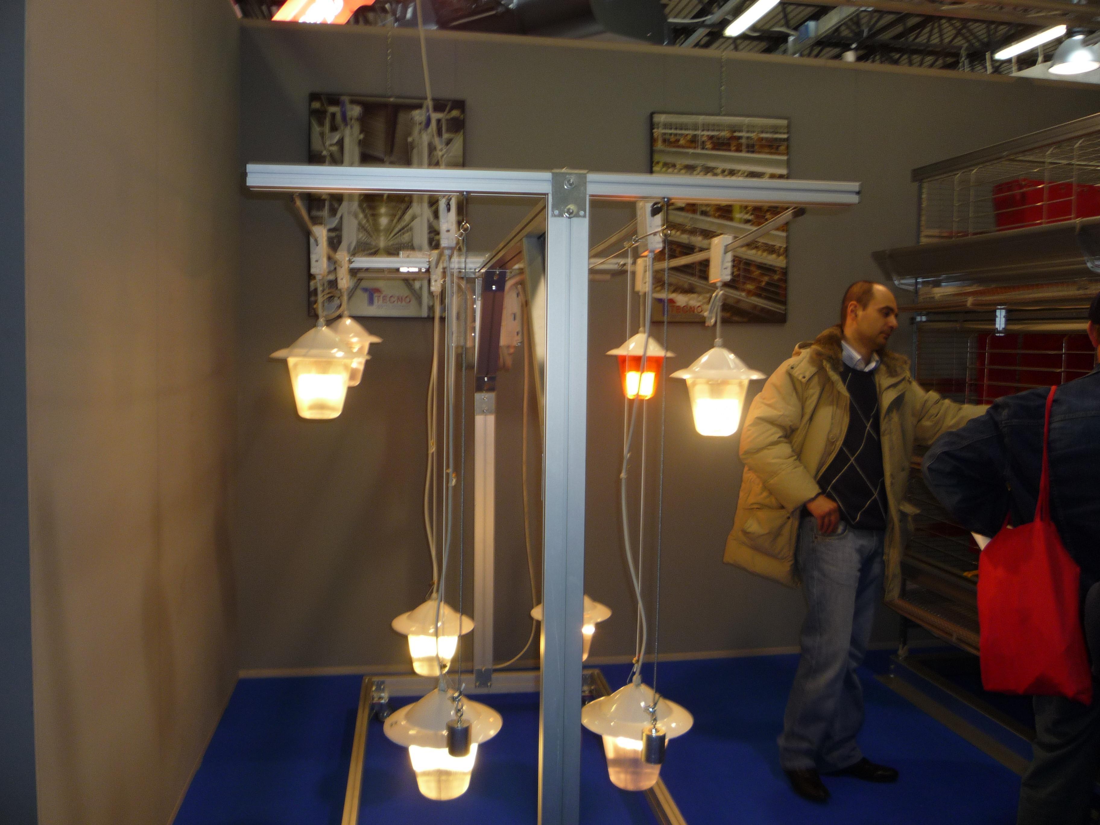 Система освещения TECNO (Италия, 2009)