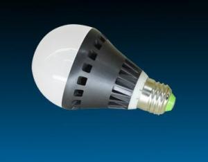 светодиодная лампа с пластиковым радиатором