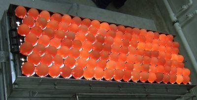 Миражирование яиц для определения насечки.