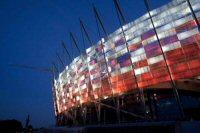 Национальный стадион в Варшаве.